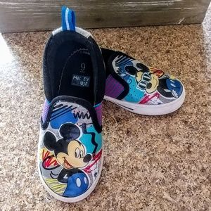 Mickey Mouse Slip On Sneakers 9